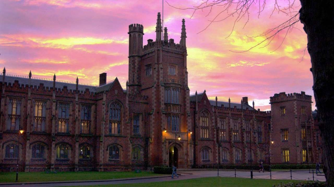 QUB at Night